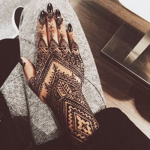 latest henna tattoo ideas (10)