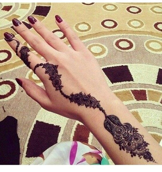 latest henna tattoo ideas (9)