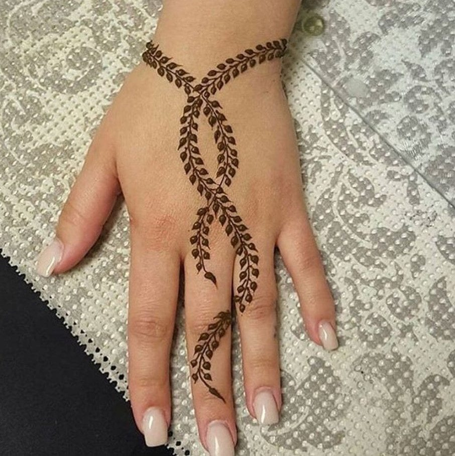 latest henna tattoo ideas (8)