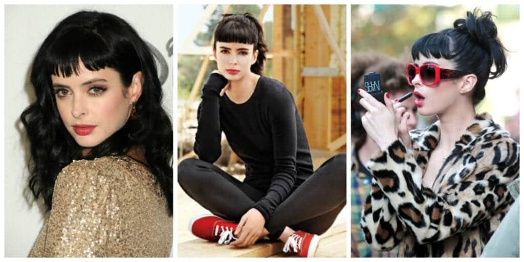 krysten-Ritter-1024x512 20 Best College Hairstyles for Girls with Medium Length Hair