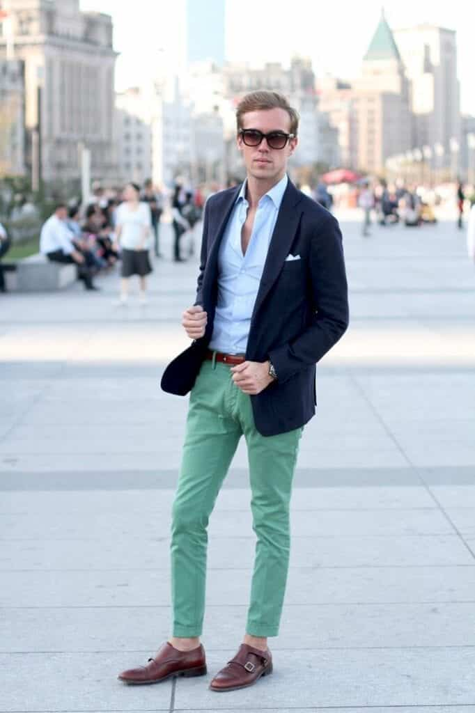 leather-monk-strap-shoes-682x1024 30 Best Men's Outfit Ideas to Wear with Monk Strap Shoes