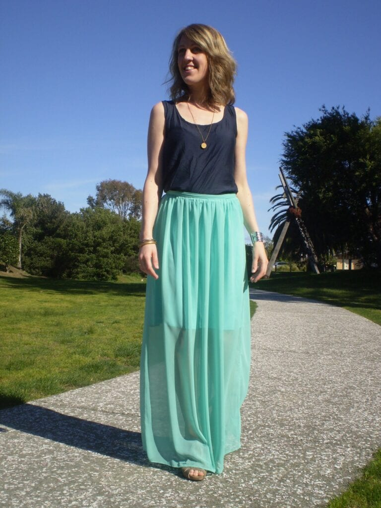how to wear mint colored skirts (14)