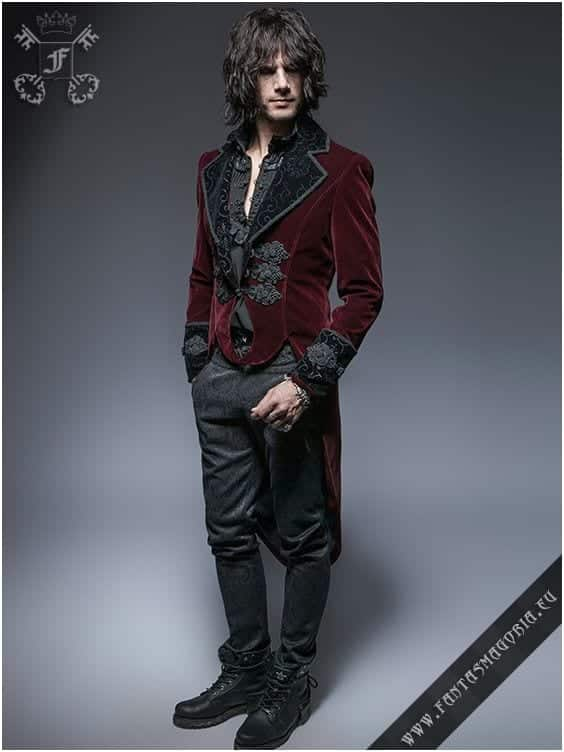 the-velvet-touch Goth Outfits for Guys- 20 ideas How to Get Goth Look for Men