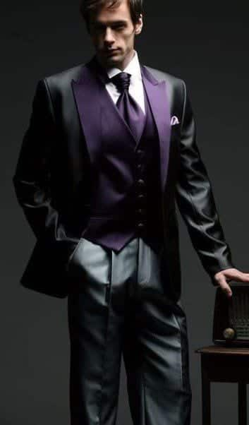 the-wedding-look Goth Outfits for Guys- 20 ideas How to Get Goth Look for Men