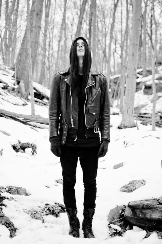 winter-goth-look Goth Outfits for Guys- 20 ideas How to Get Goth Look for Men
