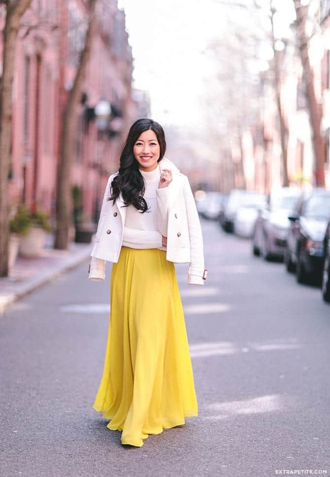 how to wear yellow skirt (10)