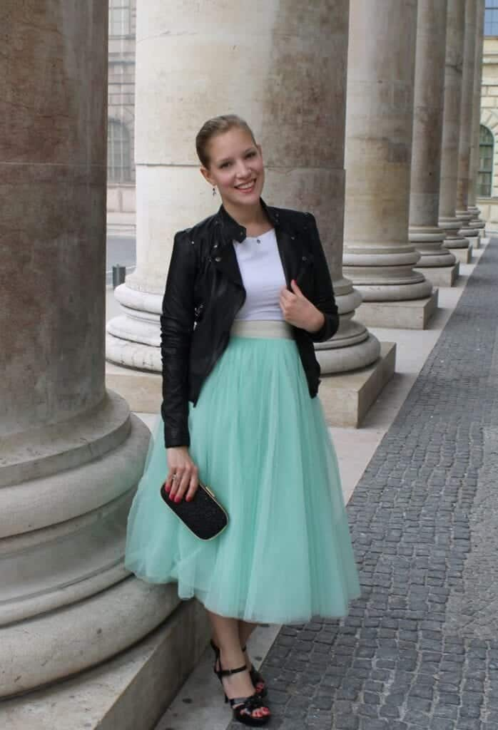 how to wear mint colored skirts (4)
