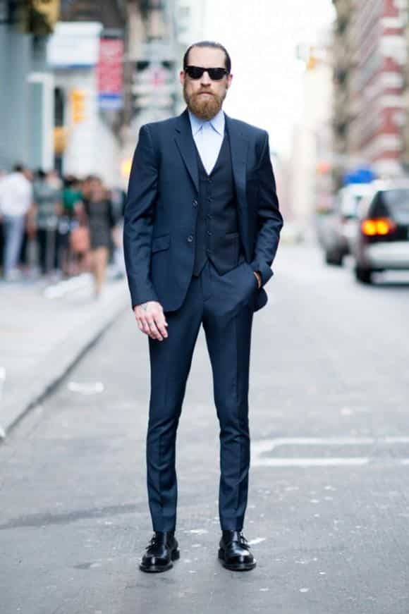 with-suit 30 Best Men's Outfit Ideas to Wear with Monk Strap Shoes