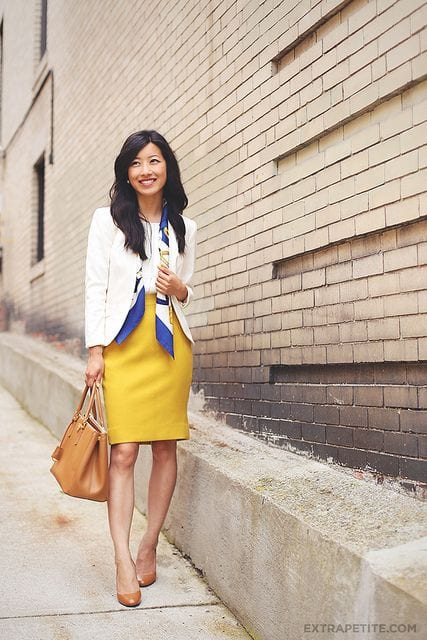 how to wear yellow skirt (11)