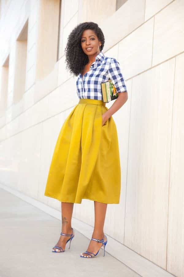 how to wear yellow skirt (16)