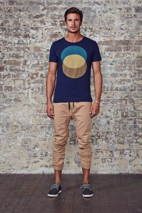 10-2 Men's Outfit with Jogger Pants- 30 Ways to Wear Jogger Pants