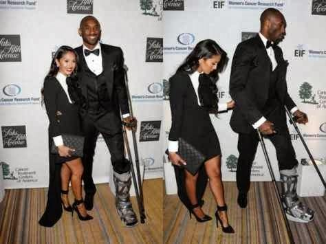 10-Couples-Who-Matched-In-Clothing-Kobe-and-Vanessa-Bryant 18 Cute Matching Outfits For Black Couples