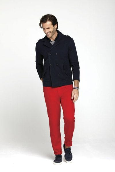12-1 Men Outfits with Red Pants-30 Ways for Guys to Wear Red Pants