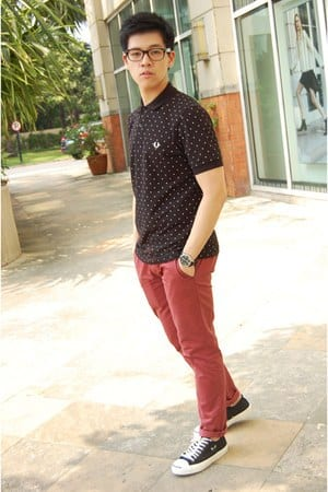 15-1 Men Outfits with Red Pants-30 Ways for Guys to Wear Red Pants