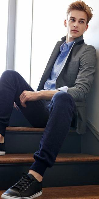 How to Wear Sweatpants to Work Place