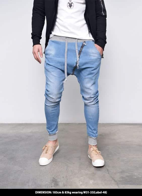 17-2 Men's Outfit with Jogger Pants- 30 Ways to Wear Jogger Pants