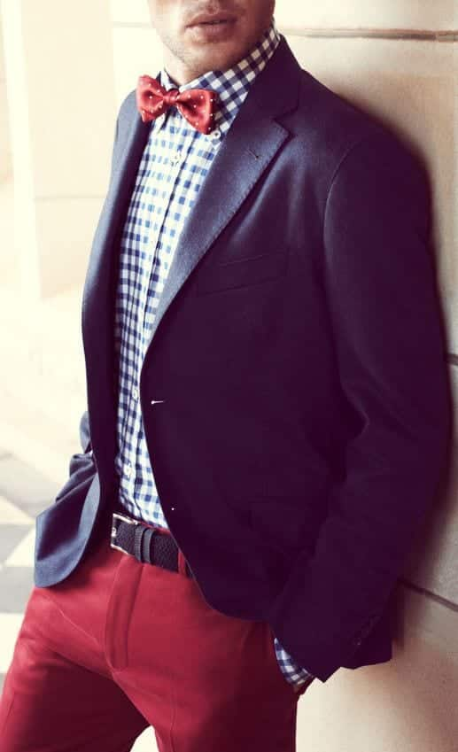 19-1 Men Outfits with Red Pants-30 Ways for Guys to Wear Red Pants