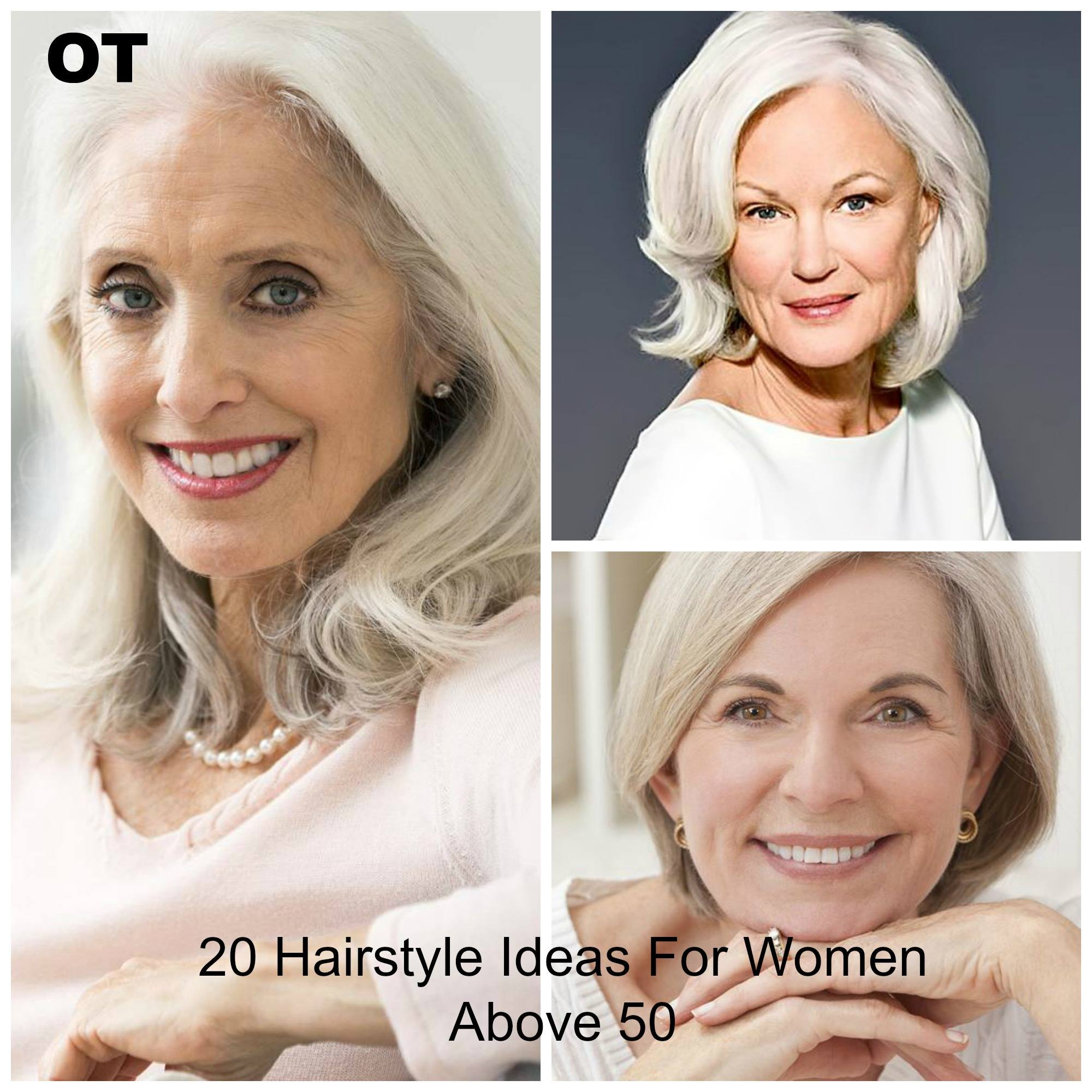 Amazing Hairstyle & Haircut Ideas For Women Above 50