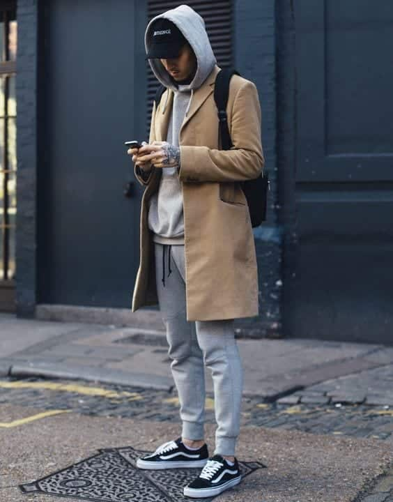 23-3 Men's Outfit with Jogger Pants- 30 Ways to Wear Jogger Pants
