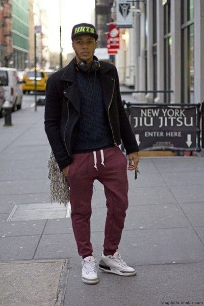 25-2 Men's Outfit with Jogger Pants- 30 Ways to Wear Jogger Pants