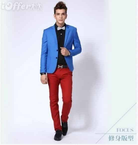 26-1 Men Outfits with Red Pants-30 Ways for Guys to Wear Red Pants