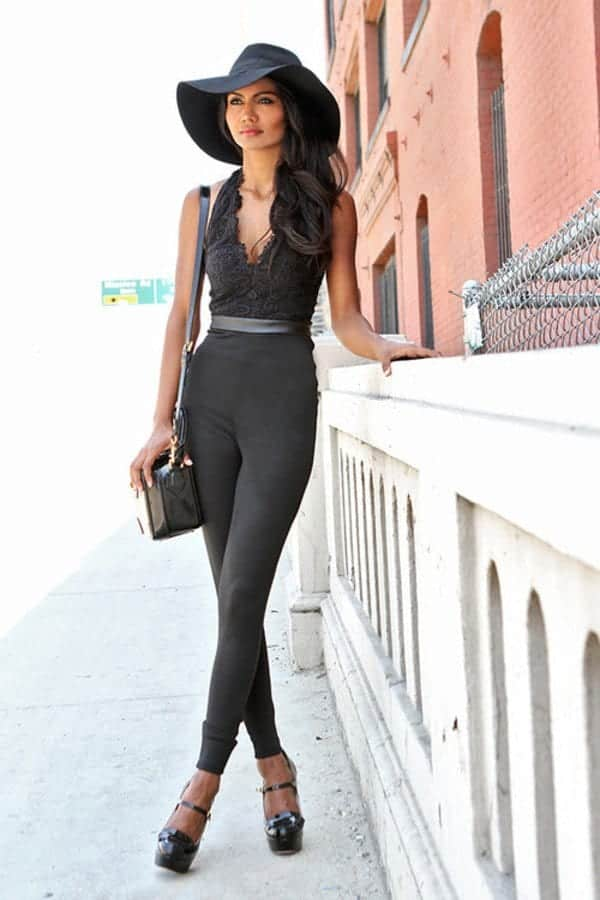 29-2 Girls Bodysuit Outfits- 30 Chic Ways to Wear Women Bodysuits