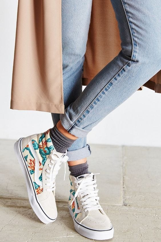 How to Wear Printed Vans