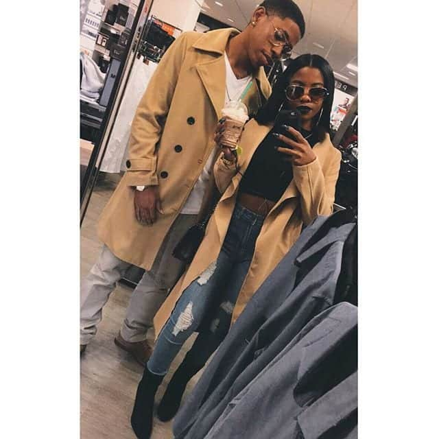 3fc0ce86035881ef677b91cc058214a0-1 18 Cute Matching Outfits For Black Couples