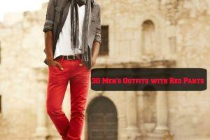 30 Men's outfits with red pants