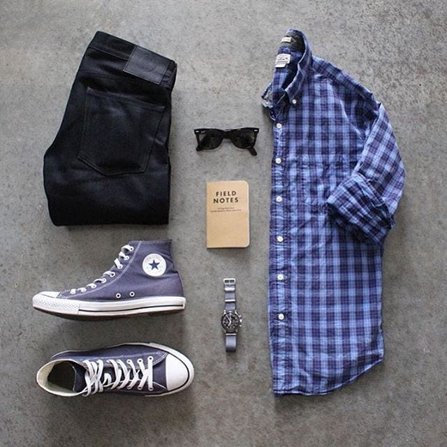 Accessories-To-Go-With-Black-Pants Black Pants Outfits For Men-29 Ideas How To Style Black Pants