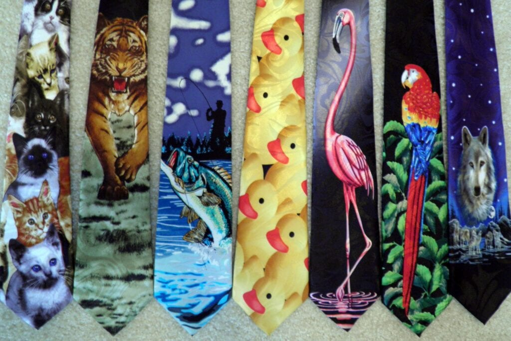 Animal_Novelty_Neckties-1024x683 Funky Outfits For Guys – 16 Really Cool Outfits for Boys These Days