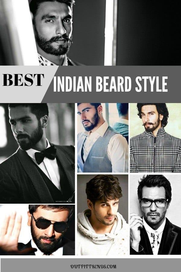 BEARD Indian Beard Styles-20 Best Facial Hairstyles For Indian Men