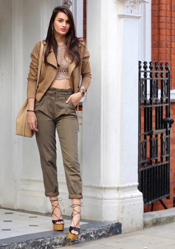 Diane-Trouser Girls Casual Club Attire-30 Best Casual Outfits for Clubbing