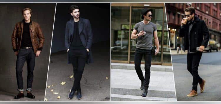 Different-Hairstyles-With-Black-Pants Black Pants Outfits For Men-29 Ideas How To Style Black Pants