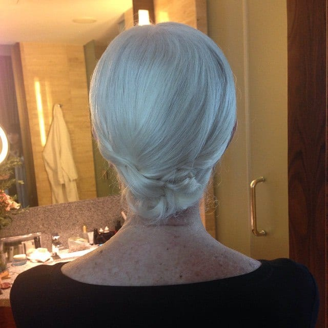 Elegant-Chignon-For-Older-Women 20 Amazing Hairstyle & Haircut Ideas For Women Above 50