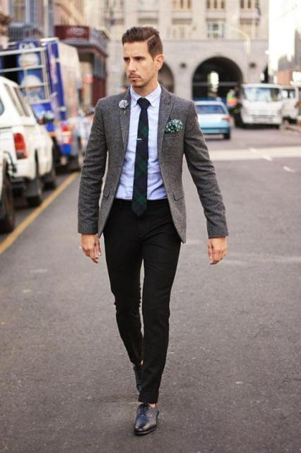 Going-On-A-Date-Outfit-With-Black-Pants Black Pants Outfits For Men-29 Ideas How To Style Black Pants