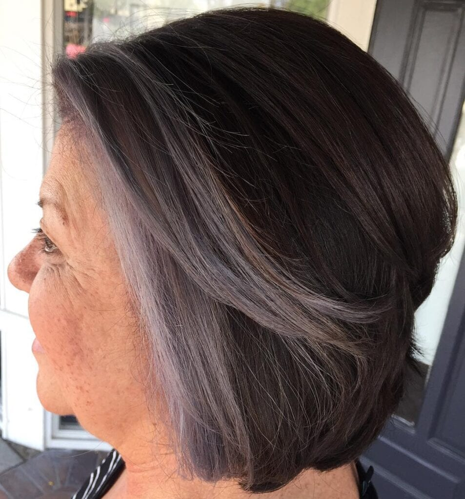 Grey-Hair-Hairstyles-953x1024 20 Amazing Hairstyle & Haircut Ideas For Women Above 50