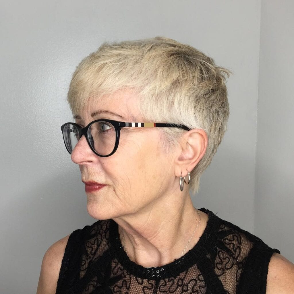 Hairstyles-For-Over-50-With-Glasses-1024x1024 20 Amazing Hairstyle & Haircut Ideas For Women Above 50