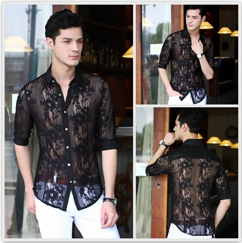 Lace Outfits for Men (7)