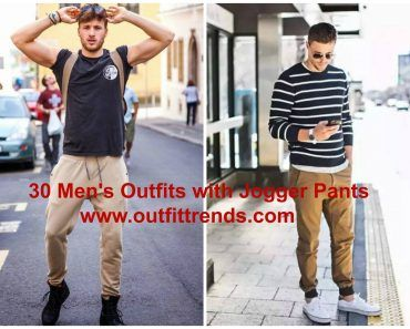 30 Men's Outfits with Jogger Pants