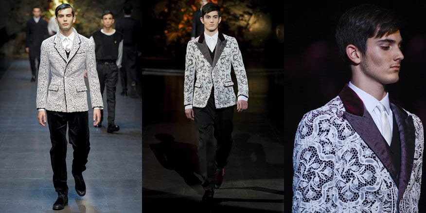 Lace Outfits for Men (3)