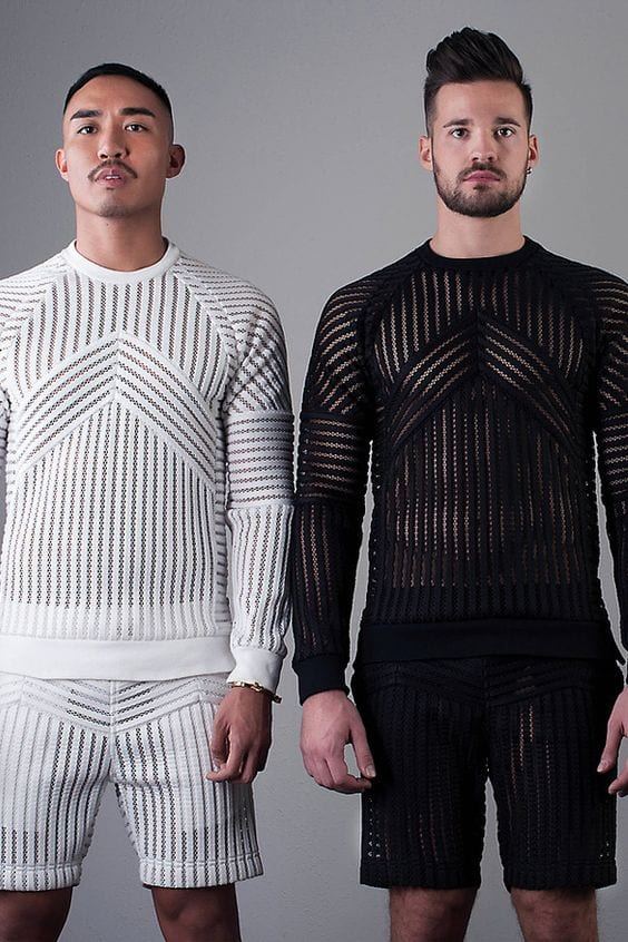 Lace Outfits for Men (1)