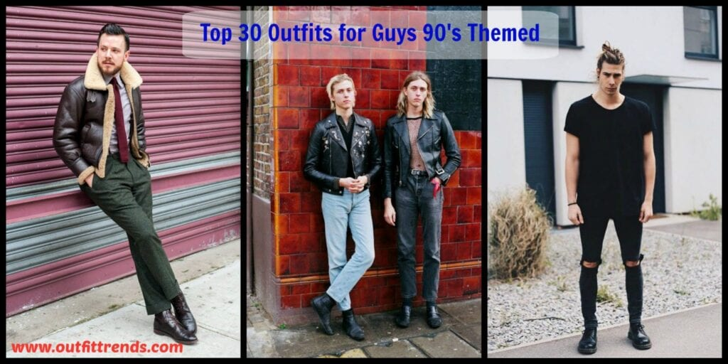 Top 30 Outfits for Guys 1990's Themed (3)