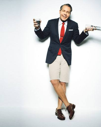 Weird-Ties-With-Formal-Clothing Mismatch Outfits Guys- 25 Ideas What to Wear on Mismatch Day