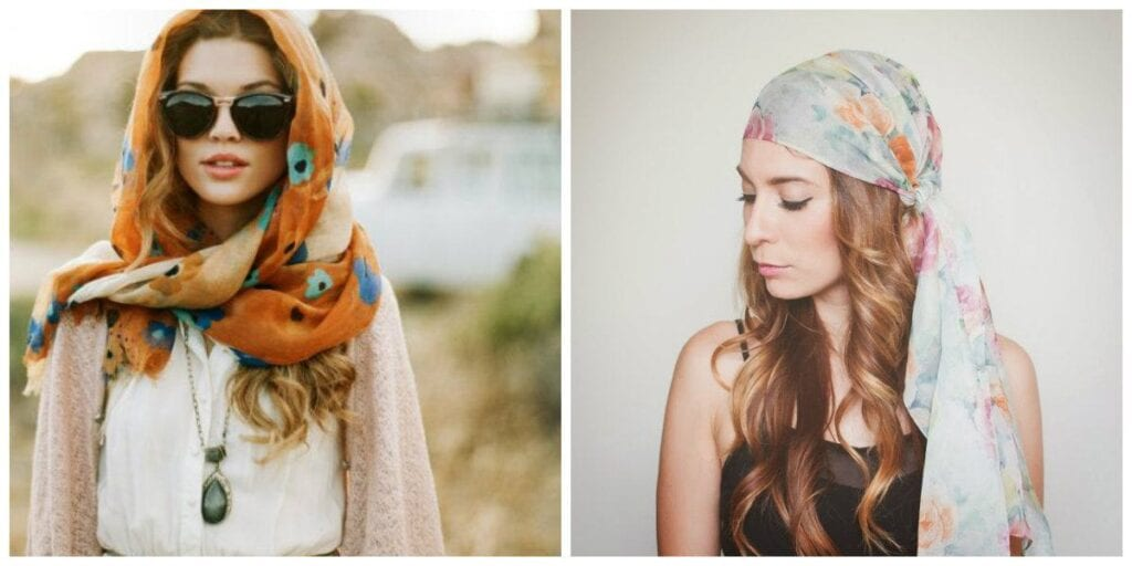 bohemian-style-of-wearing-scarves-on-your-head-to-look-stylish-chic-1024x512 17 Super Funky Outfits for Women Worth Trying