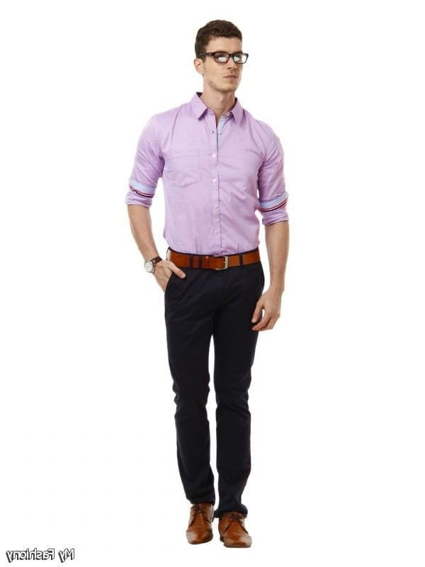 Business Attire for men Business Casual Shirts. Classically coloured button-downs are traditional and work well when tailored to skim the body. These shirts are failsafe, but there are other ways to harness business casual without looking like everyone else in the office.