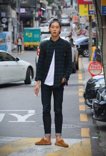 Korean style men