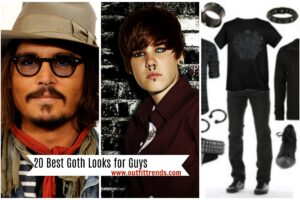 men goth outfit ideas