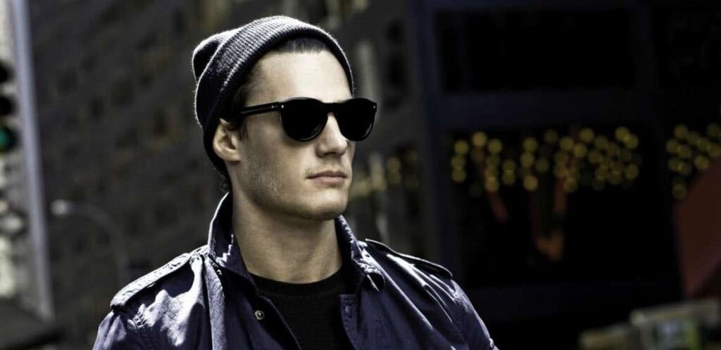 man-beanie-sun-glasses-shirt-1024x497 Funky Outfits For Guys – 16 Really Cool Outfits for Boys These Days