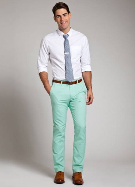 how to wear a mint pant (14)